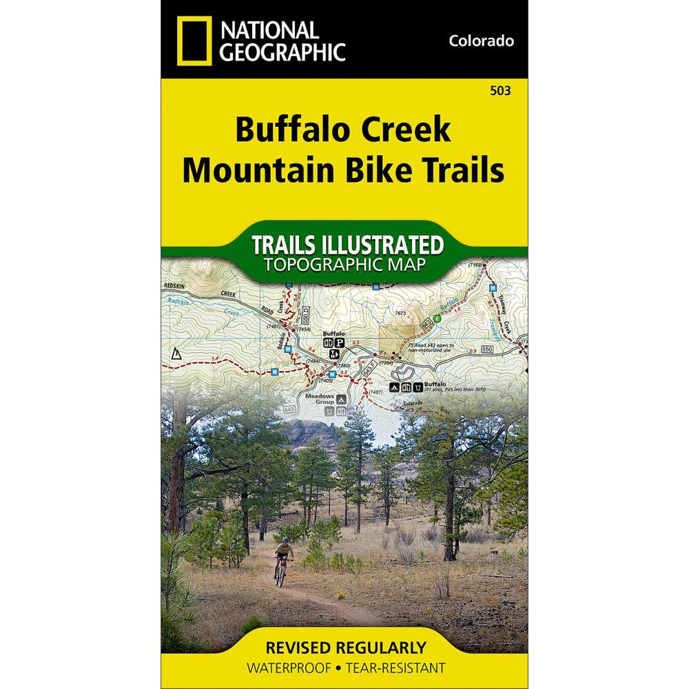 503 Buffalo Creek Mountain Bike Trails Trail Map
