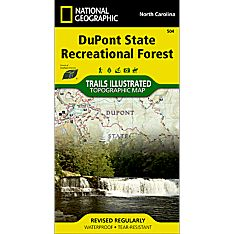 504 DuPont State Recreational Forest Trail Map