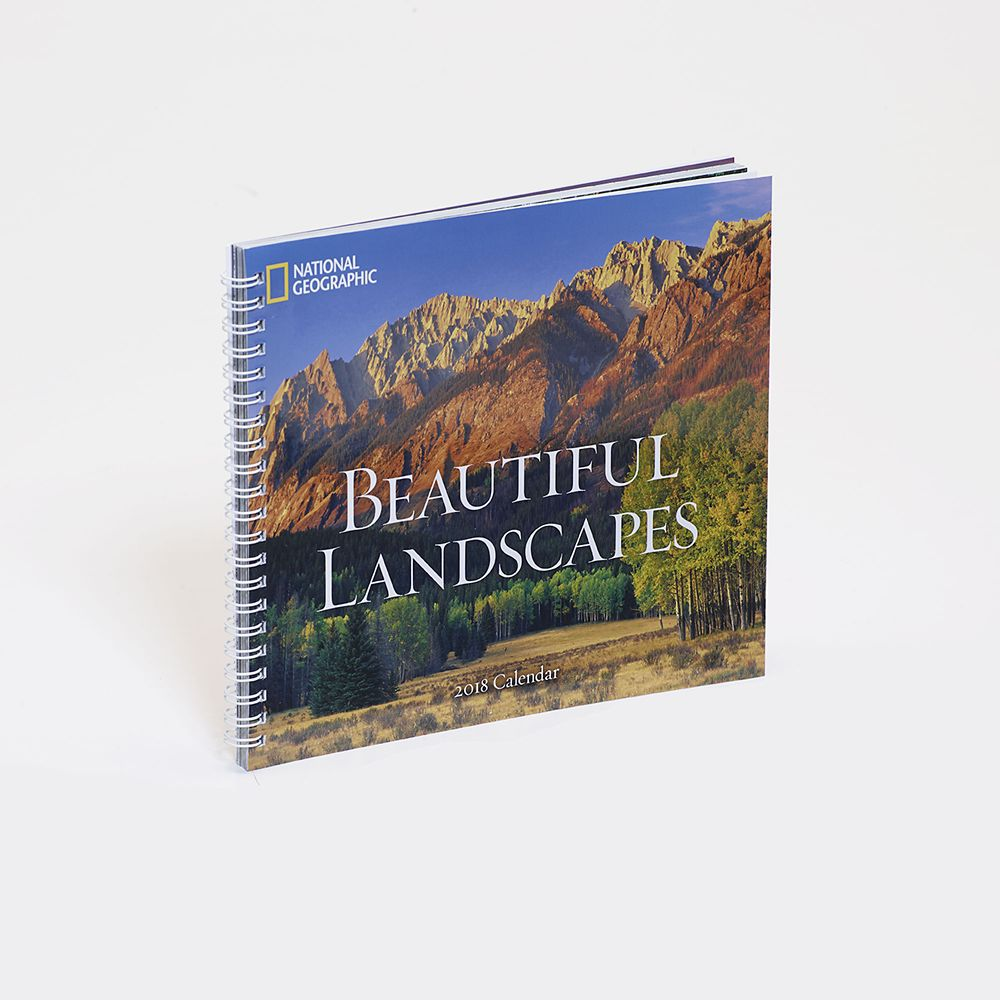 2018 National Geographic Beautiful Landscapes Engagement Calendar