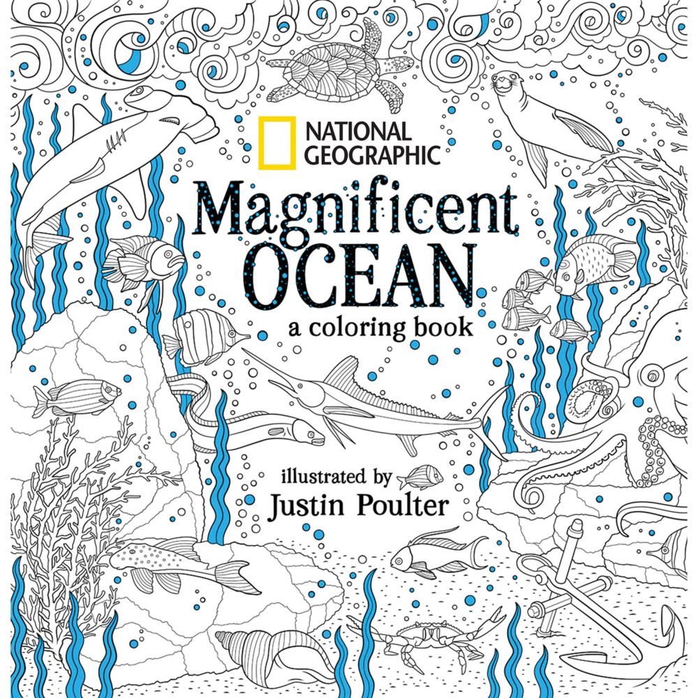 Animal coloring pages national geographic - National Geographic Magnificent Ocean