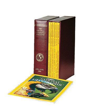 2018 National Geographic Magazine Slipcase