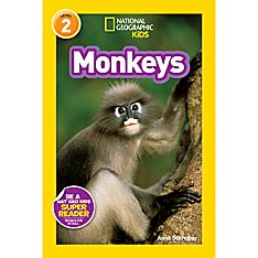 National Geographic Readers: Monkeys