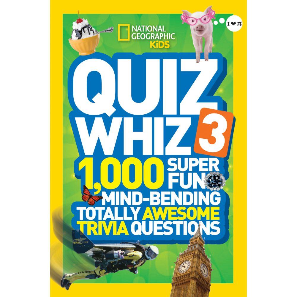 National Geographic Kids Quiz Whiz 3