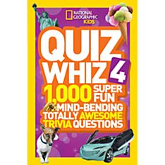 National Geographic Kids Quiz Whiz 4