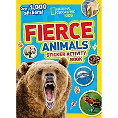 National Geographic Kids Fierce Animals Sticker Activity Book