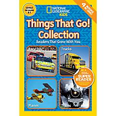 National Geographic Readers: Things That Go Collection