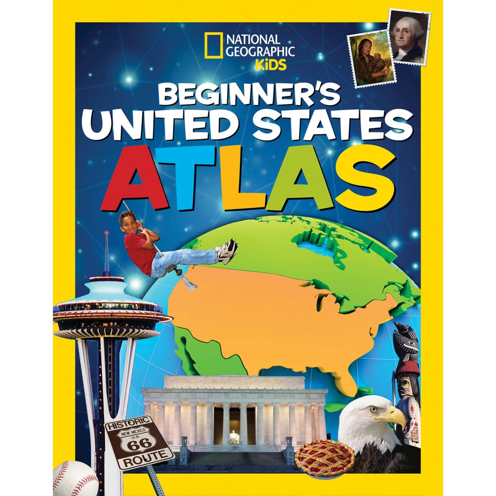 National Geographic Kids Beginner's United States Atlas - Hardcover