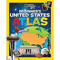 National Geographic Kids Beginner's United States Atlas - Hardcover