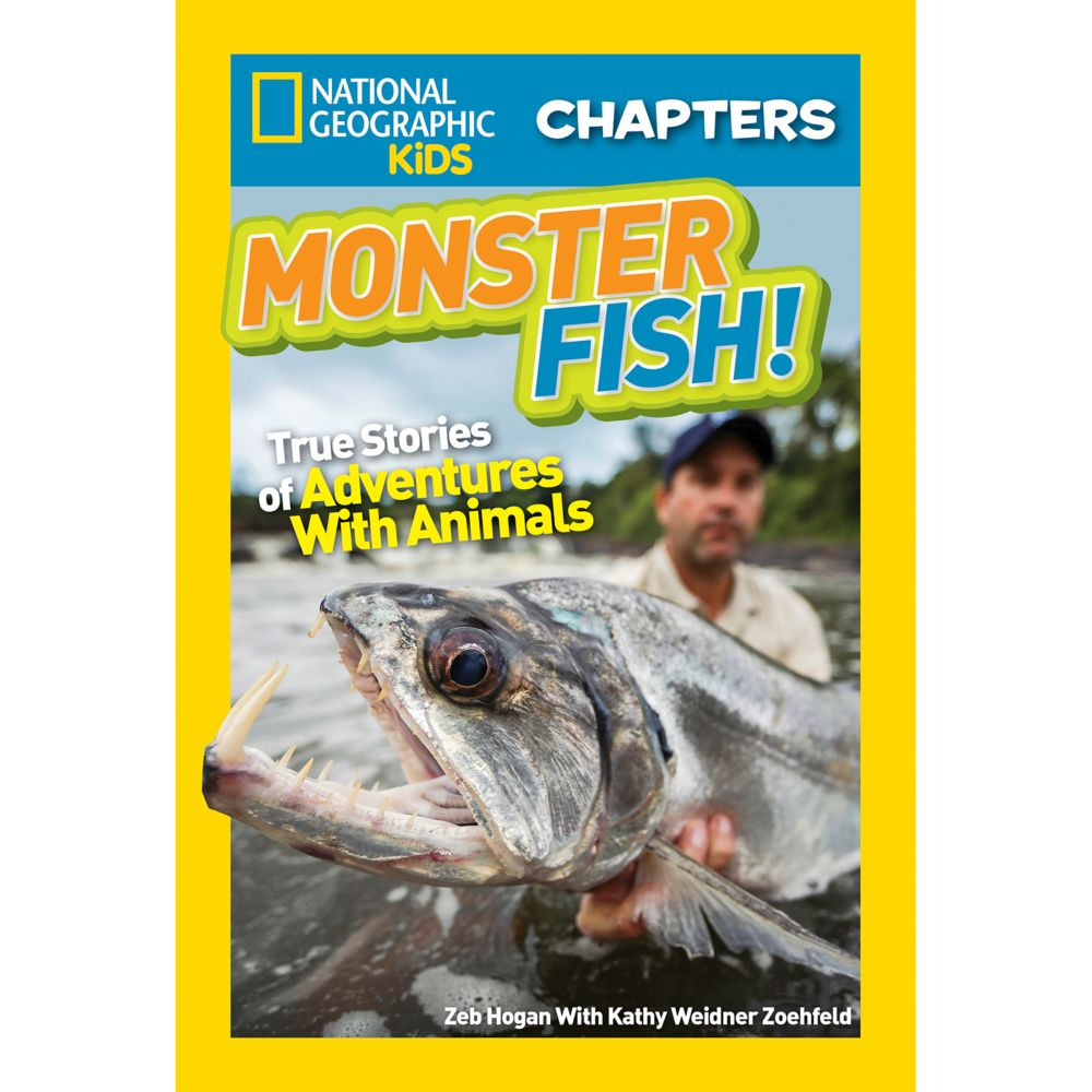 National Geographic Kids Chapters: Monster Fish