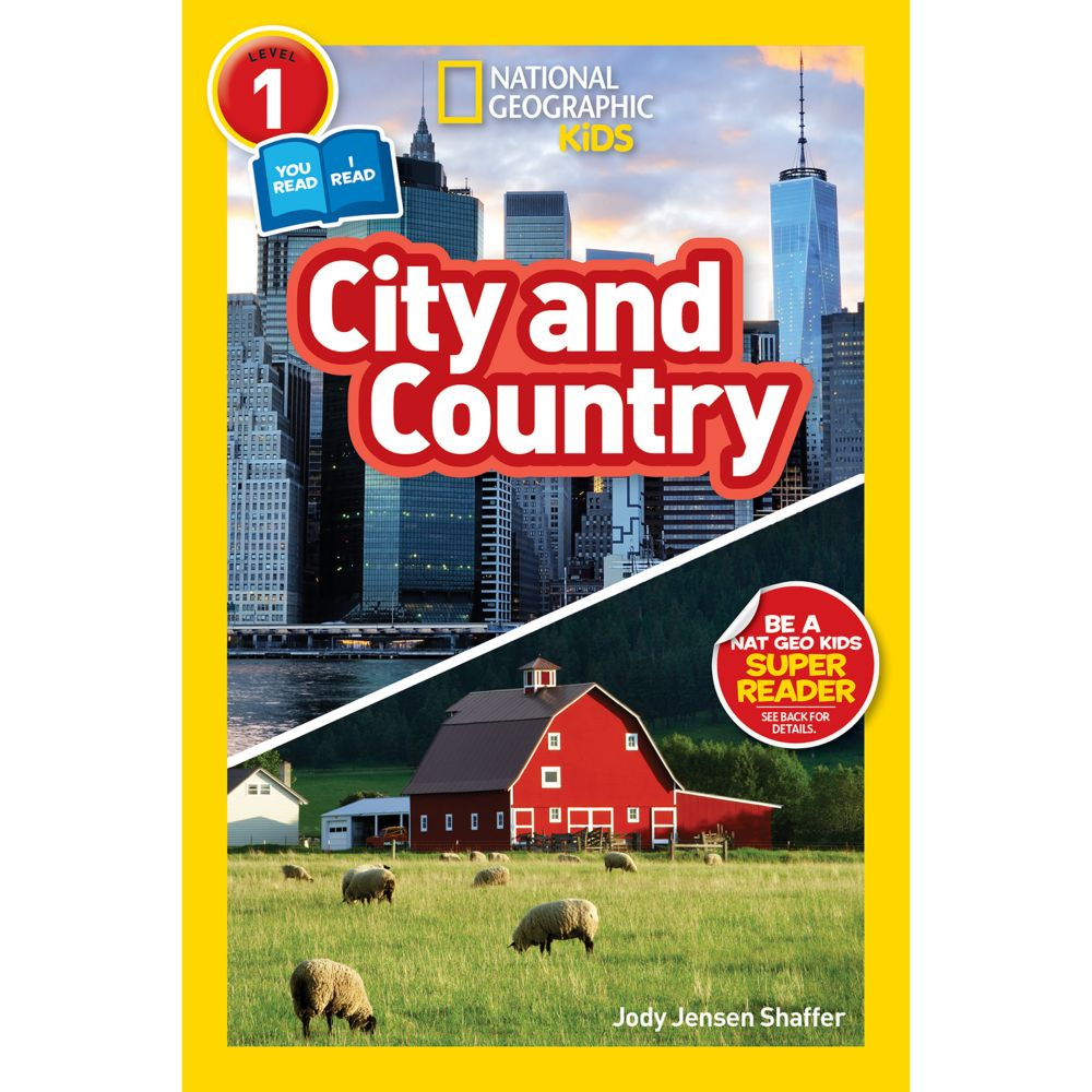 National Geographic Readers: City and Country