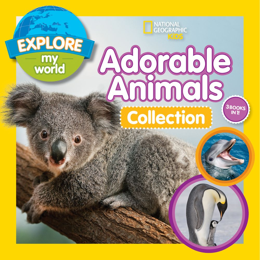 Explore My World Adorable Animals Collection 3-in-1
