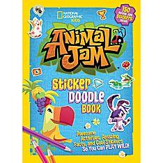 Animal Jam Sticker Doodle Book