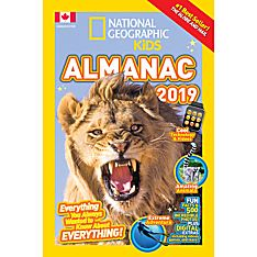 National Geographic Kids Almanac 2019 - Canadian Edition