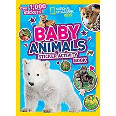 National Geographic Kids Baby Animals Sticker Activity Book