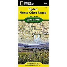 700 Ogden, Monte Cristo Range Trail Map