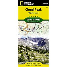 720 Cloud Peak Wilderness Trail Map