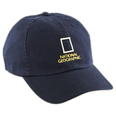 National Geographic Navy Baseball Cap