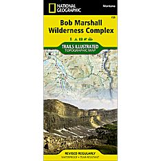 725 Bob Marshall Wilderness Trail Map