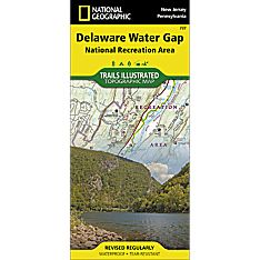 737 Delaware Water Gap Trail Map