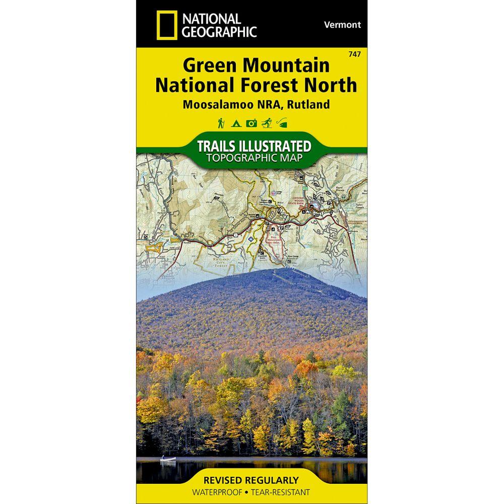 747 Green Mountain National Forest North (Moosalamoo National Recreation Area, Rutland) Trail Map