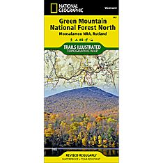 747 Green Mountain National Forest North (Moosalamoo National Recreation Area, Rutland) Trail Map
