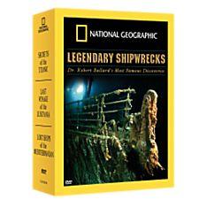 Mysteries of the Deep: Legendary Shipwrecks DVD Set