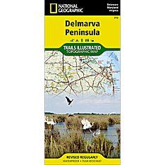 772 Delmarva Peninsula Trail Map