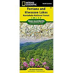 784 Fontana and Hiwassee Lakes (Nantahala National Forest) Trail Map