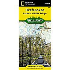 795 Okefenokee National Wildlife Refuge Trail Map