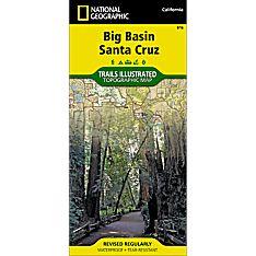 816 Big Basin, Santa Cruz Trail Map