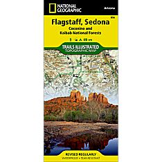 856 Flagstaff, Sedona (Coconino and Kaibab National Forests) Trail Map