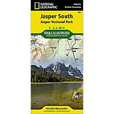 902 Jasper South (Jasper National Park) Trail Map