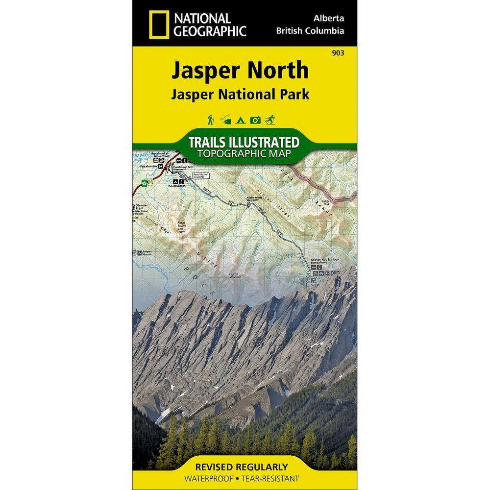 903 Jasper North (Jasper National Park) Trail Map