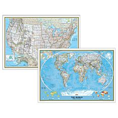 World Map Posters Wall Maps Of The World National Geographic Store - National geographic us map