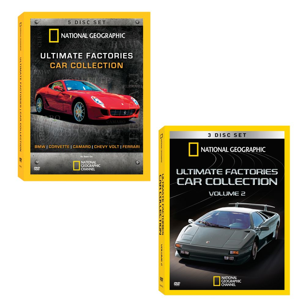 Ultimate Factories Car DVD Collection - Vol. 1 and 2
