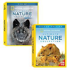 National Geographic Ultimate Nature DVD Collections, Vol. 1 and 2