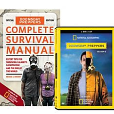 Doomsday Preppers Book and DVD Set