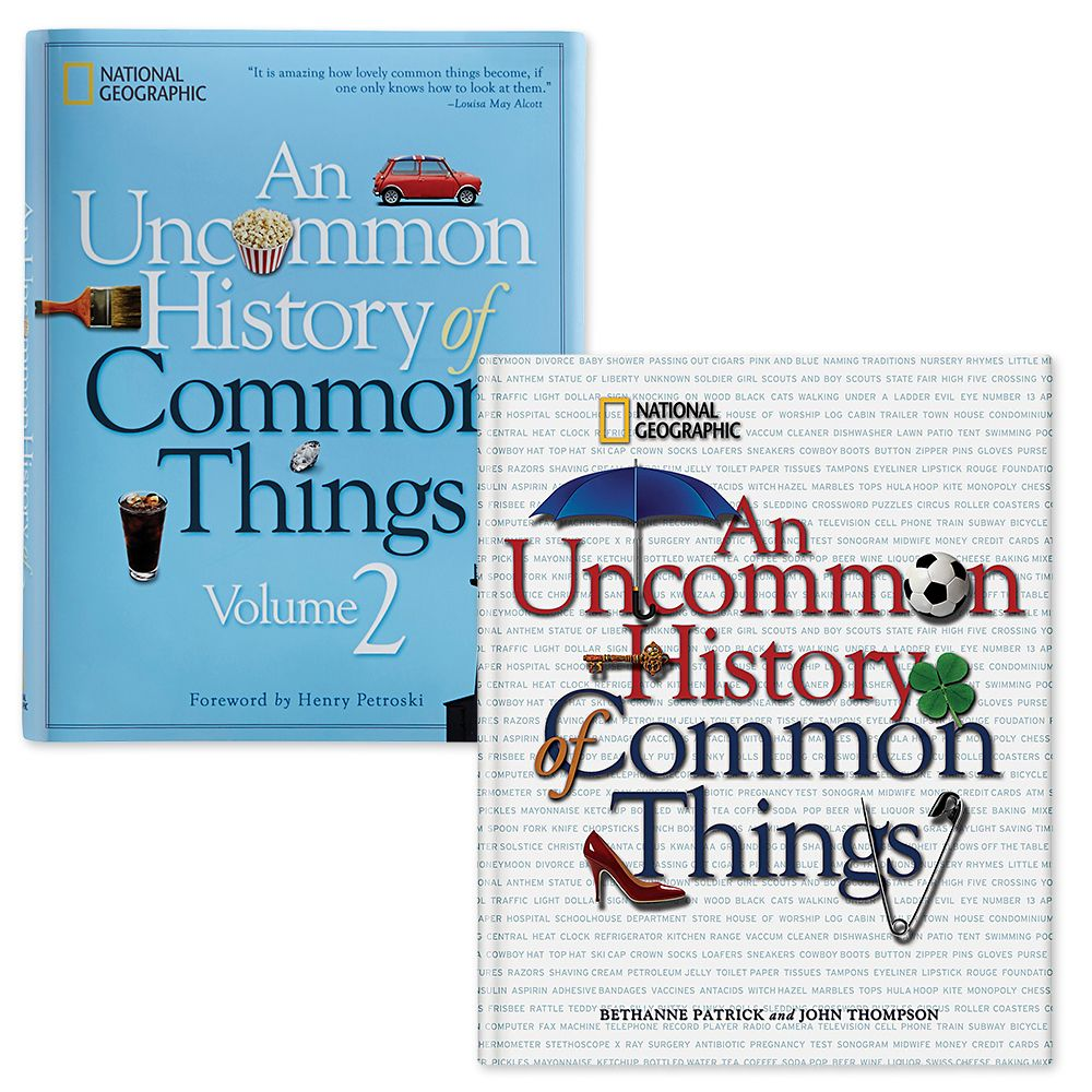 An Uncommon History of Common Things Volume 1 and 2 Set