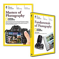 Fundamentals of Photography and Masters of Photography Courses on DVD Set