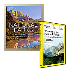 Wonders of the National Parks Course DVD and  National Parks Illustrated Book set