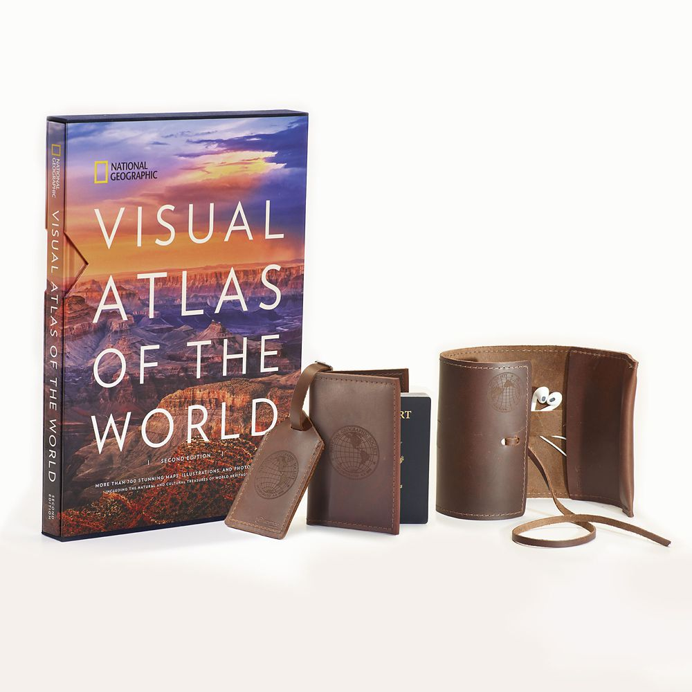 Visual Atlas of the World Gift Set