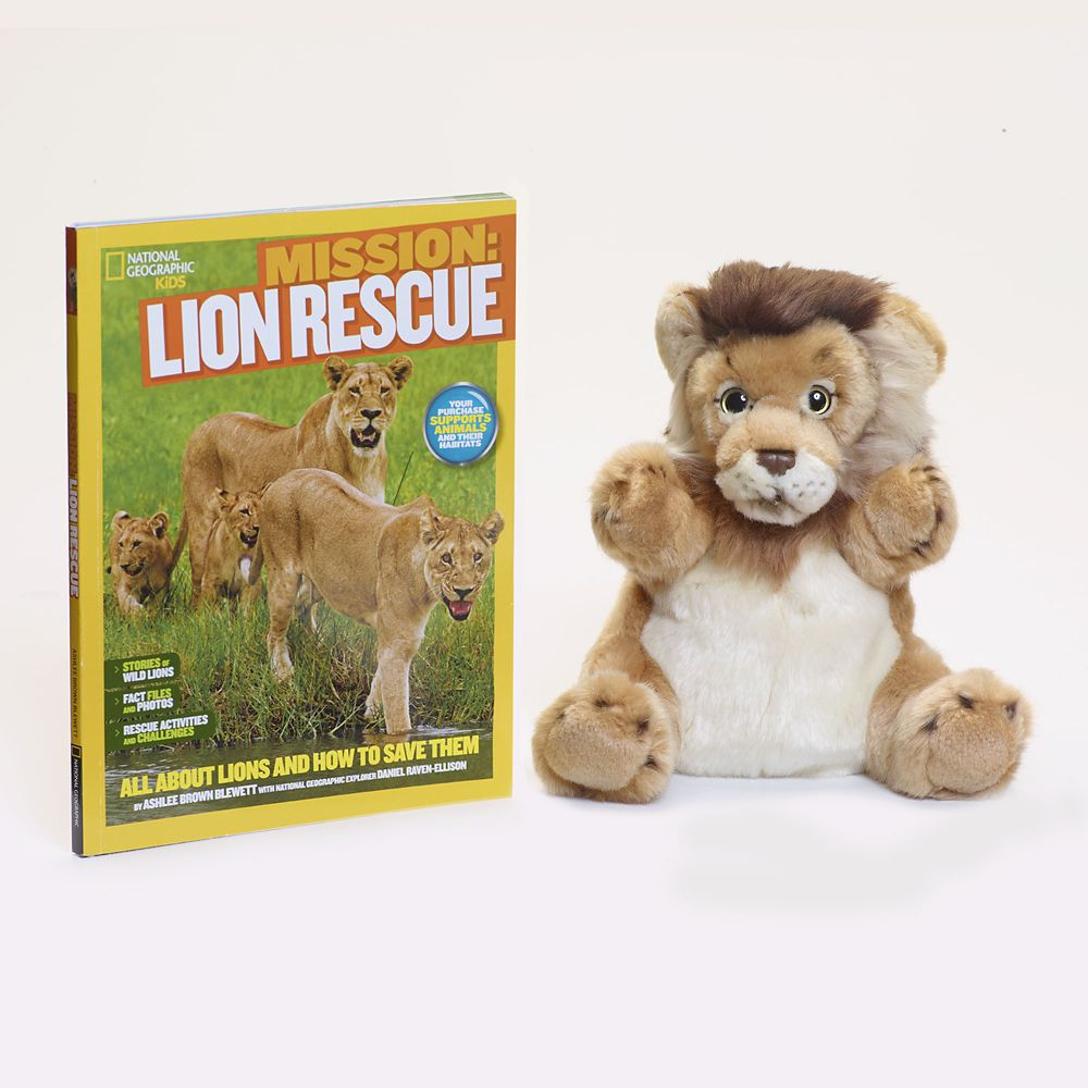 Lion Rescue Gift Set