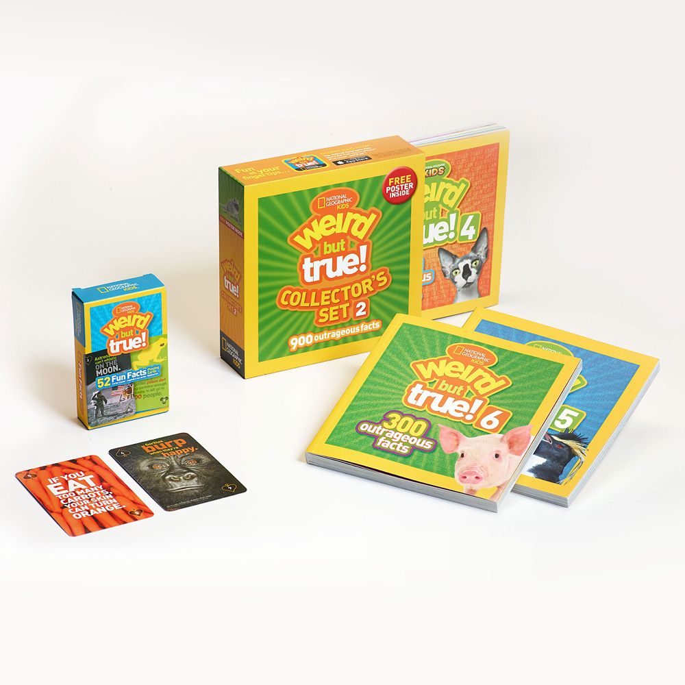 Weird But True Collector's Gift Set