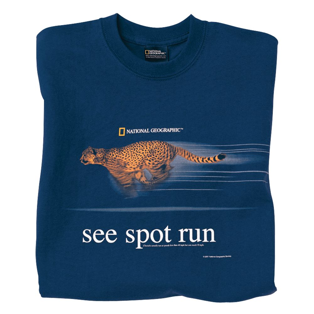 See Spot Run Cheetah T-shirt