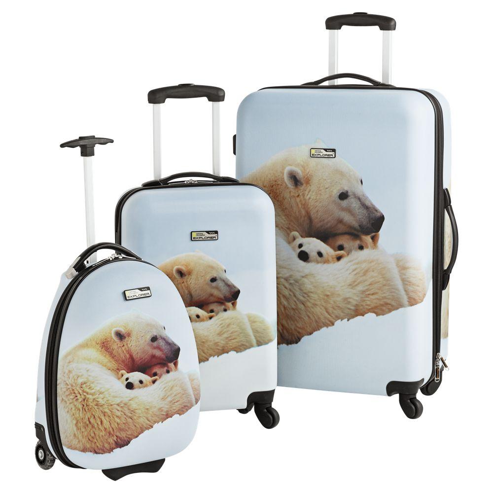 National Geographic Explorer Polar Bear Hard Side Luggage