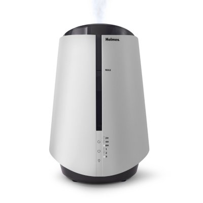 Holmes® 1-Gallon Top-Fill Ultrasonic Cool-Mist Humidifier with Antimicrobial Protection and 7 Color LED Lights