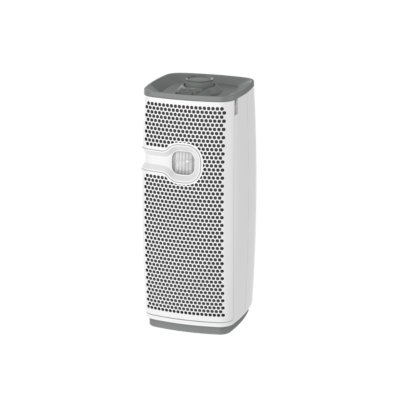 Holmes® aer1 Mini Tower HEPA Mini Air Purifier with Air Ionizer and Visipure Filter Viewing Window, Small Room Air Cleaner & Allergen Remover - White (HAP9413W-TU)