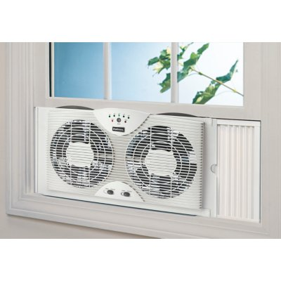 Holmes® Electronically Reversible Twin Window Fan (HWF0910AT-NWTU-2)
