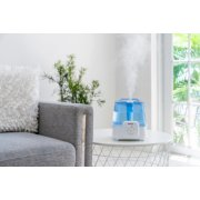 Holmes® Ultrasonic Cool and Warm Mist Humidifier 1 Gallon Ultrasonic Humidifier with Adjustable Mist, Aromatherapy Tray, Easy Grip Handle, and Antimicrobial Protection image number 4