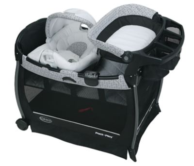 Photo of Pack 'n Play® Cuddle Cove™ Elite Playard with Soothe Surround™ Technology by Newell Brands – Baby & Writing